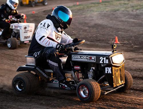 Austin Zimmerman Sweeps Second Straight Lone Star Mower Racing Association Event on SawBlade.com Sponsored Mower
