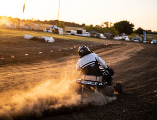 SawBlade.com Sponsored Austin Zimmerman Wins FXT Mower Debut With Lone Star Mower Racing Association