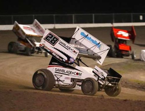 Bogucki Battles for Podium Before Late Flat Tire at Lake Ozark Speedway
